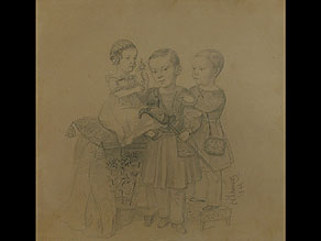 Detail images:  Otto Gottlieb Schwarz Baltischer Maler des 19. Jahrhunderts