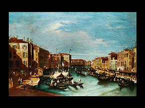Detail images:  Italienischer Maler des ausgehenden 18. Jahrhunderts