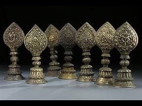 Detail images:  Altarset bestehend aus acht Teilen