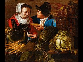 Detailabbildung:  Holländischer Maler des 17. Jahrhunderts (Nachfolge des van Honthorst)