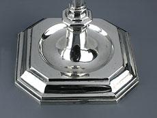 Detail images: Paar Silberkerzenstöcke