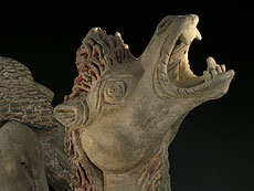 Detail images: Liegendes Kamel der Tang-Dynastie