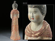 Detailabbildung: Hofdame der Tang-Dynastie