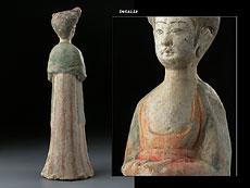 Detail images: Hofdame der Tang-Dynastie