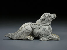 """Detail images: Eines der Tiere der zwölf Tierkreiszeichen der chinesischen Astrologie - """"Der Hund"""""""