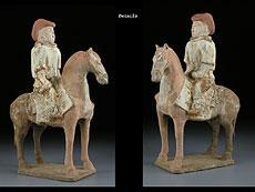 Detail images: Reiter der Tang-Dynastie