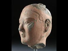 Detail images: Kopf der Tang-Dynastie