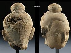 Detail images: Gandhara-Kopf