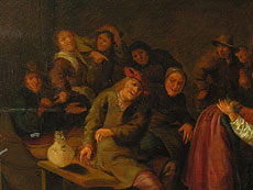 Detail images: Jan Miense Molenaer 1610 - 1668, Nachfolge