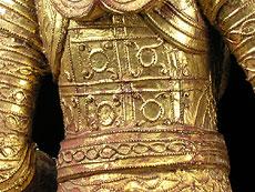 Detail images: Paar Tempelfiguren