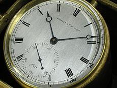 Detail images: Breguet-Schiffschronometer