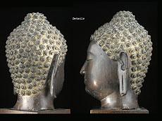 Detail images: Kopf eines Buddha
