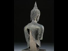 Detail images: Buddha-Büste