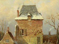 Detail images: Charles Leickert 1816 - 1907