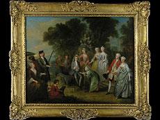 Detail images: François Octavien 1695 - 1736