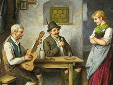 Detail images: Carl Ostersetzer 1850 - 1914