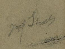 Detail images: Jozef Israëls 1820 Kronringen - 1911 Den Haag, zug.