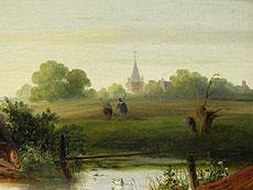 Detail images: Willem Roelofs 1822 Amsterdam - 1897 Berchem
