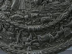 Detail images: Seltene Bildplatte aus Blei
