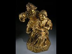 Detail images: Französische Skulptur eines Paares
