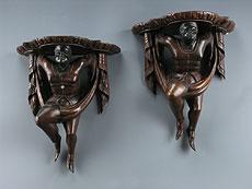 Detail images: Paar Allegorien