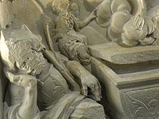 Detail images: Gotische Steintafel