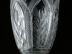 Detailabbildung: Seltene englische Kristall-Windleuchten