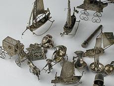 Detail images: Konvolut Miniatursilber