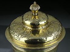 Detail images: Großer russischer Deckelbecher