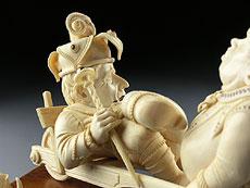 Detail images: Elfenbeingruppe