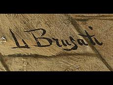 Detail images: L. Brugati Italienischer Maler des 19. Jahrhunderts