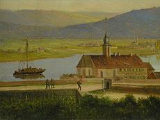 Detail images: Deutscher Landschaftsmaler des 19. Jahrhunderts