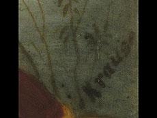 Detail images: Porzellangemälde mit Darstellung Friedrichs des Großen