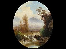 Detail images: Guido Agostini Italienischer Maler des 19. Jahrhunderts