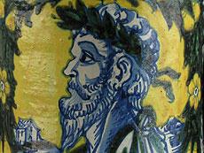 Detail images: Großer sizilianischer Albarello