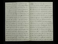 Detail images: Brief Nr. 44 der Korrespondenz des Zaren Alexander II. von Russland an Ekaterina Dolorukaya (der späteren Prinzessin Jurjewskaya) in französischer Sprache.