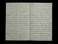 Detail images: Brief Nr. 46 der Korrespondenz des Zaren Alexander II. von Russland an Ekaterina Dolorukaya (der späteren Prinzessin Jurjewskaya) in französischer Sprache.