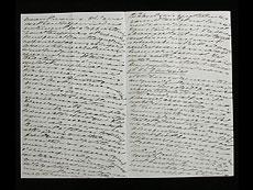 Detail images: Brief von Ekaterina Dolgorukaya (der späteren Prinzessin Jurjewskaya) an den Zaren