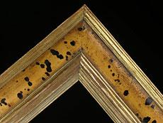 Detail images: Rahmen mit vergoldeter Außen- und Innenleiste