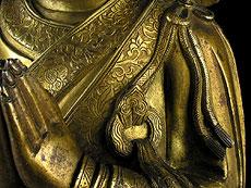 Detail images: Große Kuan Yin der Ming-Dynastie