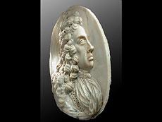 Detail images: Bedeutende Marmor Bildnisreliefplatte König Joseph I. von Paul Strudel um 1648 in Cles/Italien - 1708 Wien