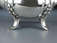 Detail images: Silberne Kaffeekanne