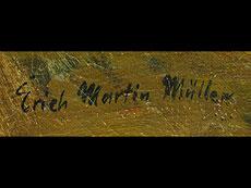Detail images: Erich Martin Müller 1888 - 1972