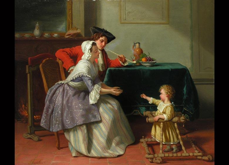 Jean Carolus 1814 - 1897 Belgien