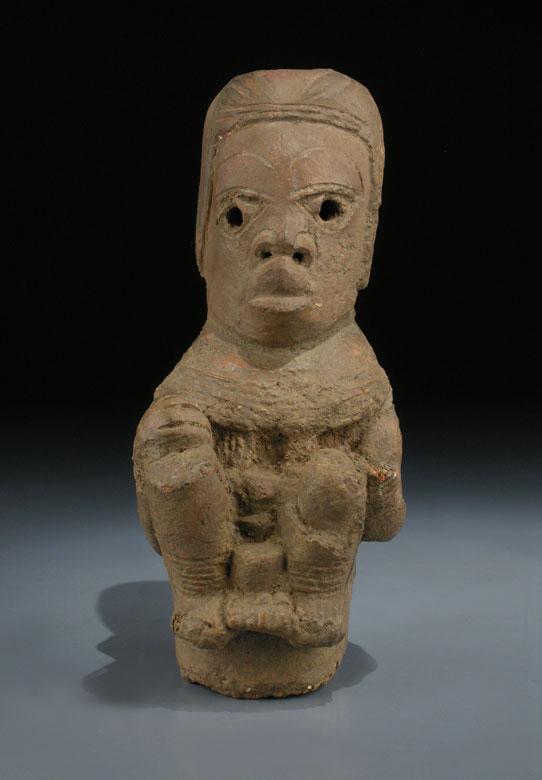 Nok-Figur in Terrakotta