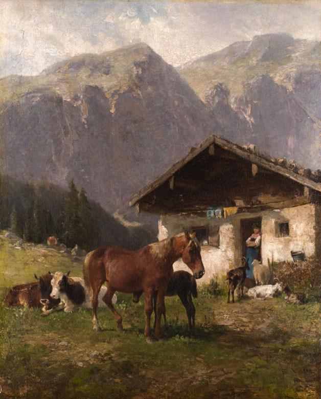 Friedrich Johann Voltz 1817 - 1886
