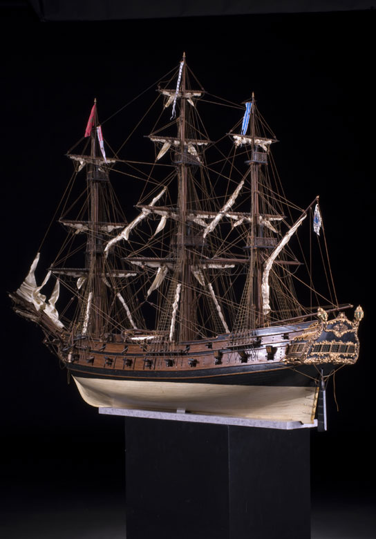 Venezianische Kaperfregatte, um 1700