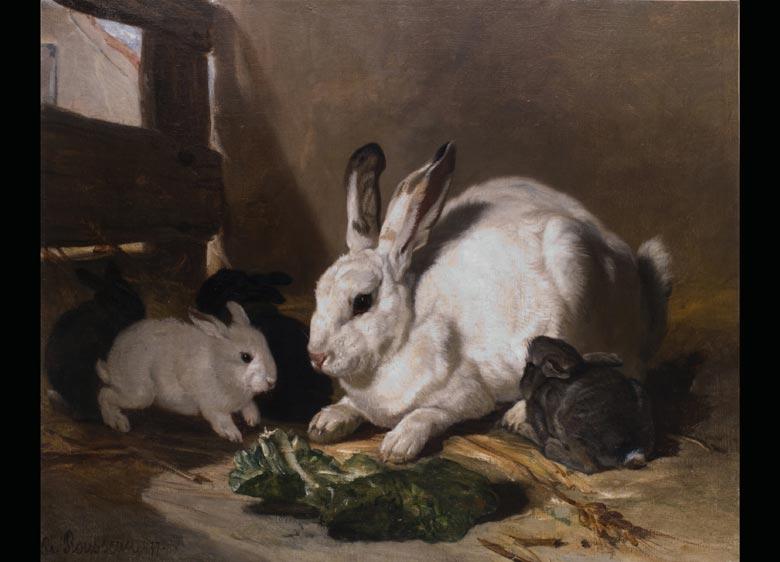 Philippe Rousseau 1816 Paris - 1887 Acquigny