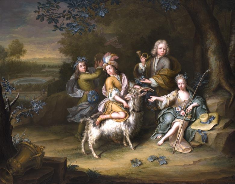 Hieronymus van der My (Mij) 1687 - 1761 Leiden