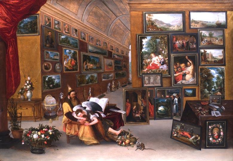 Jan Brueghel der Ältere 1568 Brüssel - 1625 Antwerpen und Hieronymus Francken der Jüngere 1578 - 1623 Antwerpen